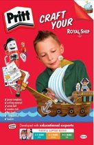 Pritt knutselset  create your royal ship