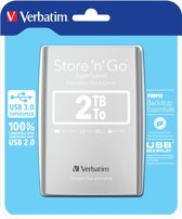 Verbatim Store 'n' Go Ultra Slim - Externe harde schijf - 2 TB