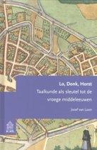 Studies op het gebied van de Nederlandse taalkunde 4 - Lo, donk, horst