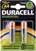 Duracell Oplaadbare Batterijen - AA 1300 mAh 2st