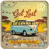 Metalen onderleggers - VW Let's Get Lost - 5 stuks