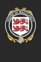 House of Macclancy: Macclancy Coat of Arms and Family Crest Notebook Journal (6 x 9 - 100 pages)