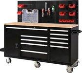 George Tools gereedschapswagen 62 inch 10 laden