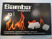 Samba aanmaakblokjes 32 stuks wit