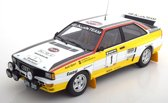 "Audi Quattro A2 No.1, Rally New Zealand 1984 ""HB"" Röhrl/Geistdörfer 1-18 Minichamps Lim.504 Pcs"