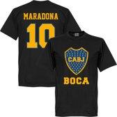 Boca Juniors Maradona Logo T-Shirt - S