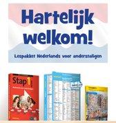 Hartelijk welkom!-  Nederlands voor anderstaligen boek + audio cd + leesboekje + wijzer
