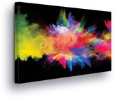 Colorful Explosion Canvas Print 60cm x 40cm