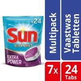 Sun Expert Pouch - Extra Power - 168 stuks - Vaatwastabletten - Kwartaalbox