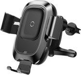 Baseus Intelligent Wireless Car Holder Vent Mount - Zwart