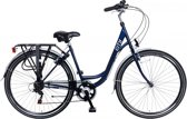 Damesfiets Popal City 28 inch 6 versnellingen - Blauw-49cm