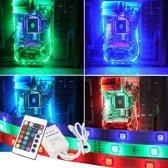 PC led strip set 5 meter RGB Basic