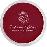 PXP Aqua schmink face & body paint dark red special FX 10 gram