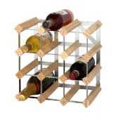 RTA - Traditional wine rack 12 bottles natural pine
