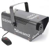 Rookmachine - Beamz S500 Rookmachine 500w met volle tank rookvloeistof
