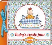 Baby's eerste jaar Pauline Oud - Plakboek/invulboek - Hard cover