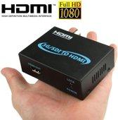 Full HD Output 1080P SDI naar HDMI Converter 3G-SDI naar HDMI voor aansturen Monitor, Model: AY-3501(zwart)