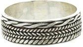 Bali ring Walai - 925 zilver - maat 22.00 mm - maat 22.00 mm