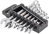 Omega Mechanix M2607 Vortex Steekringlsleutelset - 7-delig - maten 8-10-12-13-14-17-19 mm - professionele kwaliteit