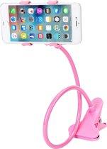 Dieux® - Roze Mobiele Telefoonhouder Universeel Met Klem