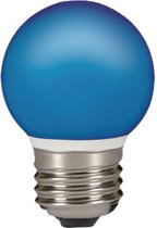 2 stuks Sylvania 0026885 LED Lamp E27 blauw 0.5W