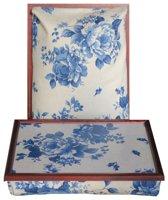 Margot Steel laptray/schoottafel Zen Wedgwood - 41 x 31 10 cm