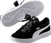 PUMA Smash v2 Ribbon Jr Sneakers Kids - Black-White