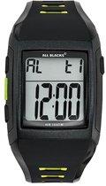 All Blacks 680437 digitaal horloge 37 mm 100 meter zwart/ groen