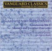 Ludwig van Beethoven: Symphonies 3 & 5; Overtures