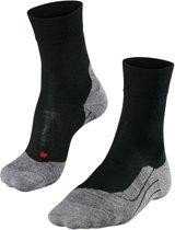 Falke RU4 hardloopsokken Heren Wool zwart Maat 42-43