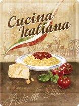 Nostalgic Art Metalen bord Cucina Italiana