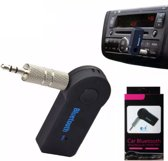 Draadloze Bluetooth Muziek ontvanger met Microfoon | Audio Music Streaming Adapter Receiver | 3,5 mm Jack AUX Draadloos Bluetooth Handsfree Car Kit | Beste Kwaliteit Bluetooth Ontvanger