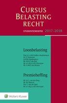 Studenteneditie Cursus Belastingrecht Loonbelasting/Premieheffing 2017-2018