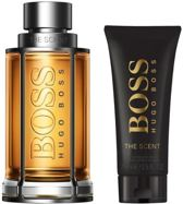 Hugo Boss The Scent Geschenkset - Eau de Toilette 200 ml en Aftershave Balm 75 ml - Herenparfum