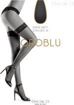 Oroblu Bas-Chic-up-15 (bas chic u)  Kleur: Rio  Maat: M