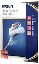 EPSON Ultra glossy photo paper inktjet 300g/m2 A4 15 sheets 1-pack