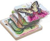 Lagenpuzzel vlinder