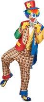 Kleurrijk clown kostuum voor mannen - Volwassenen kostuums