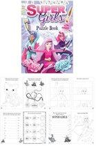 Uitdeelcadeautjes - Puzzelboeken - Model: Super Girls (48 stuks)