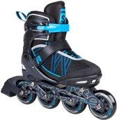 Skatelife Inlineskates Lava Junior Zwart/blauw Maat 35-38