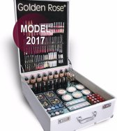 Golden rose complete visagie make-up koffer