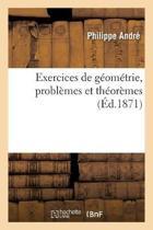 Exercices de G om trie, Probl mes Et Th or mes