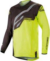 Alpinestars Crossshirt Techstar Factory Black/Fluor Yellow-XL
