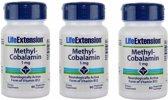 Methylcobalamin, 1 mg 60 Vegetarian Lozenges, 3-pack