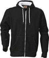 Printer Hoop Hoody Sweatjacket Black 3XL