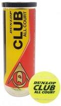 Dunlop CLUB All court Tennisballen - 3 Stuks