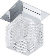 EGLO Tortoli Inbouwarmatuur - 1 Lichts - Chroom - Helder