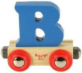 Bigjigs - Rails - Naamtrein - Letter B