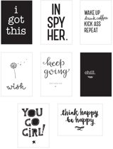 Poster lightbox sheets: Inspire