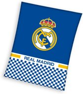Real Madrid C.F. - Fleece - Plaid - 110x140 cm - Blue